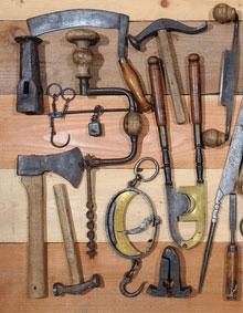 Stolarz Olsztyn. Zdjęcia starych narzędzi stolarskich